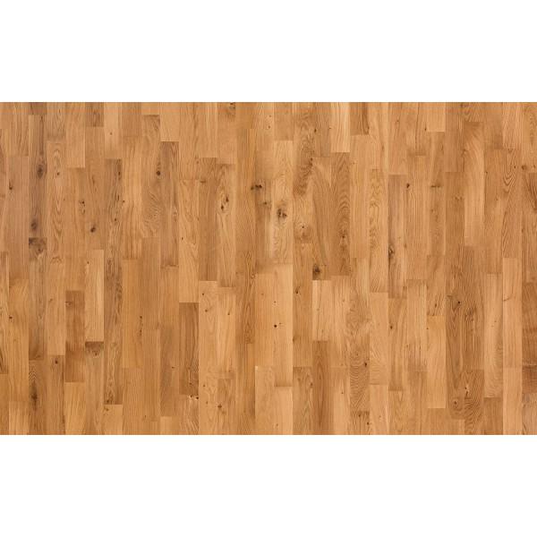 Паркетная доска Polarwood Дуб Натив матовый трехполосный Oak Native Matt Loc 3S